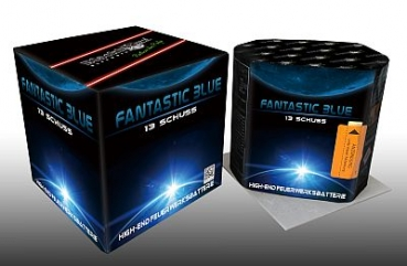 Fantastic Blue 13 Schuss Batterie